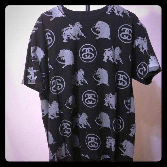 2717c839e598 Stussy Shirts | Allover Print Tshirt | Poshmark